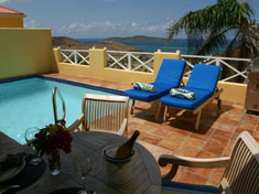 St. Croix, Villa Madeleine villas have private pools